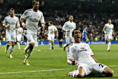 El Real Madrid golea al Almería y vuelve a adelantar al Barcelona en Liga