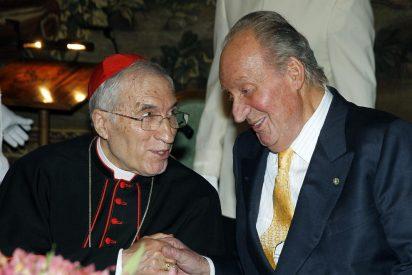 """El rey Juan Carlos recuerda el """"amor a España"""" de los próximos papas santos"""