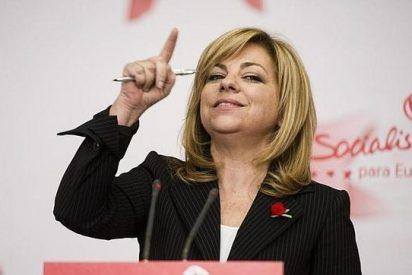 """El PP no va a desacreditar a Elena Valenciano """"porque lo hace ella sola"""""""