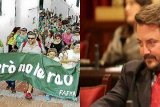 """El diputado Camps pone en su sitio a la FAPMA: """"Se ha convertido en un tentáculo más del catalanismo más estridente"""""""