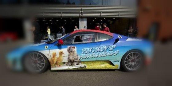Tom Bonnen y su horrible Ferrari