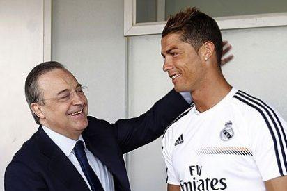 """Florentino Pérez a Cristiano Ronaldo: """"¿Te has resentido de la lesión?"""""""