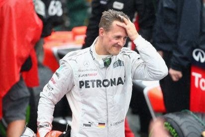 Vuelven a intentar sacar fotos de Schumacher