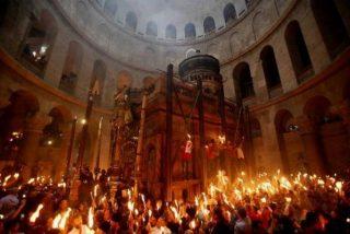 Israel impide el paso al Santo Sepulcro de una procesión ortodoxa