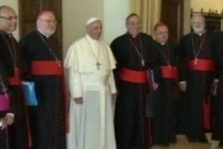 """El Papa se reúne este lunes con el """"G8"""" cardenalicio"""