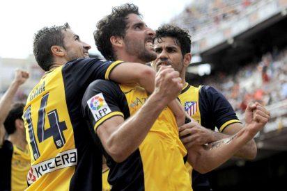 El Atlético de Madrid de Simeone logra una victoria de campeonato en Valencia
