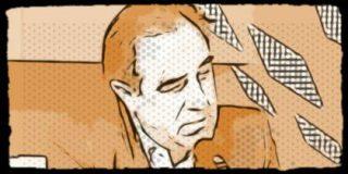 """""""Aguirre llevaba tantos años en coche oficial que olvidó que no se puede estacionar en carril bus"""""""