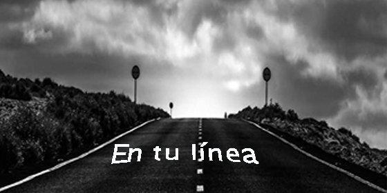 Manuel Guisande da vida a las líneas dibujadas en la carretera a través de sus versos