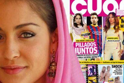 Intercambio de piropos en Twitter entre Jordi alba y la actriz de 'el Príncipe'