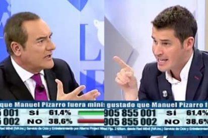 """Juan Segovia saca de quicio a Antonio Jiménez: """"¡Me enfado porque ya está bien de demagogia!"""""""