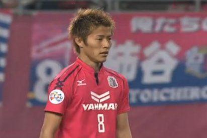 El Sevilla sigue al japonés Kakitani