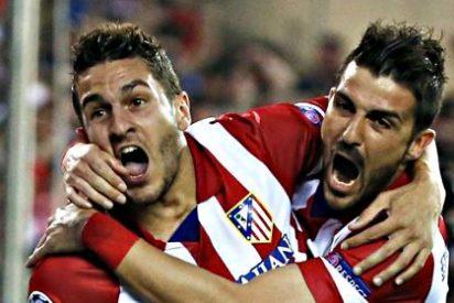 Un glorioso Atlético de Madrid se merienda al Barça en un campo lleno de banderas españolas