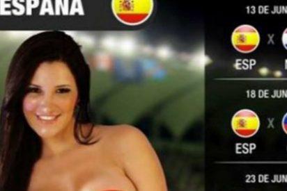 El culo de esta modelo representará a España en el Mundial de Brasil