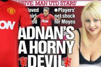Asegura tener fotos del pene del jugador del Manchester