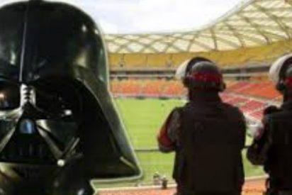 La policía de Brasil llevarán máscaras de Darth Vader durante el Mundial
