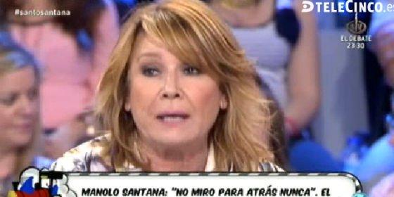 """Mila, a la mujer de Manolo Santana: """"Ten la decencia de no mostrarlo en público"""""""