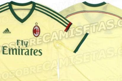 Así vestirá el Milan la próxima temporada