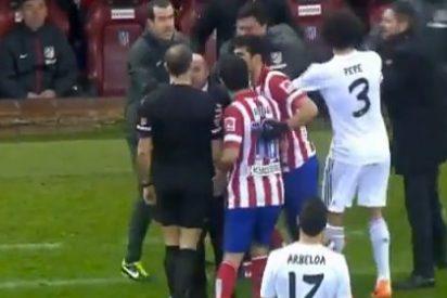 """El 'Mono' Burgos a Mou: """"Te arranco la cabeza"""""""