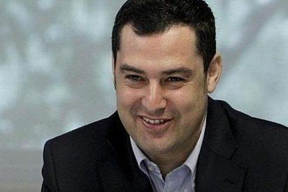 """Juan Manuel Moreno: """"En Andalucía tenemos una presidenta que nunca da la cara y ahora debería hacerlo"""""""