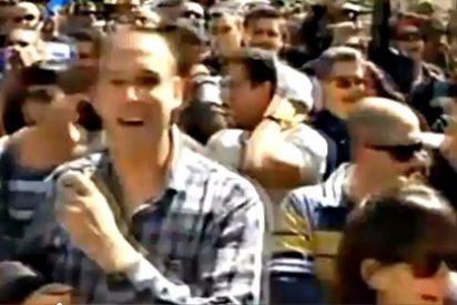 """Los Mossos d'Esquadra protestan contra el 'recortador' Artur Mas cantándole el """"Viva España"""""""