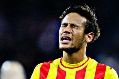 Neymar insulta a un jugador del Granada