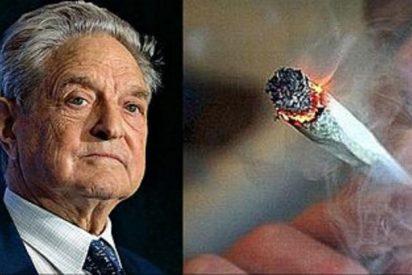 El multimillonario Soros sopla 80 millones de dólares para que EEUU fume porros a mansalva