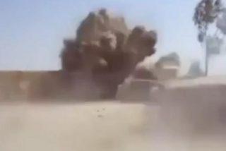"""[Vídeo] """"¡Go! ¡Go! ¡Go!"""": el bombazo que casi deja sin pestañas a unos militares británicos en Afganistán"""
