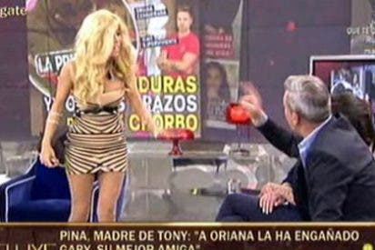 Los padres de Tony Spina ('SV2014') le hacen un flaco favor a su hijo en el 'Deluxe'