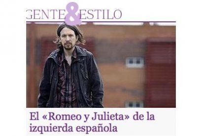 ABC da cobertura al chavista Pablo Iglesias y su novia de IU en la prensa rosa