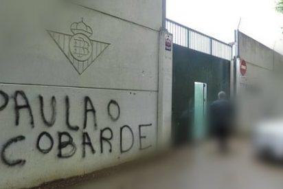 """El Betis castiga a su jugador más """"cobarde"""""""