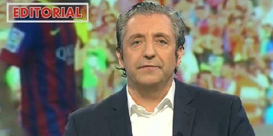 Pedrerol masacra a Xavi por negar el pisotón de Busquets a Pepe
