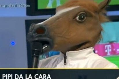 Pipi Estrada se convierte en un caballo por 'culpa' de Cristiano Ronaldo