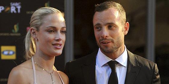 El mensaje de amor de Pistorius a su novia