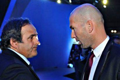 Platini anima a Zidane a irse del Real Madrid