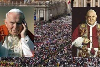 Roma gastará ocho millones de euros en la canonización de Juan Pablo II y Juan XXIII