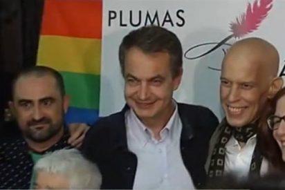 """Zapatero vuelve a dejar el pabellón en todo lo alto: """"El matrimonio homosexual sí que es Marca España"""""""