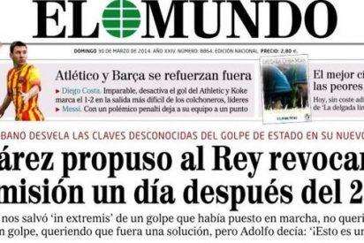 Indignación en Zarzuela con Abadillo por su portada sobre Suárez y el Rey