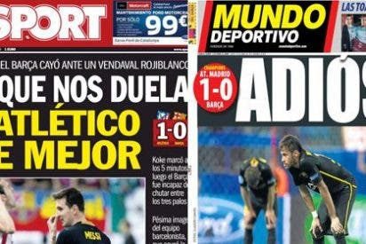 Sport y MD dejan a Xavi con el culo al aire y reconocen la superioridad del Atlético