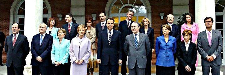 ¿Sabe a qué se dedican ahora los ministros del primer Gobierno Zapatero?