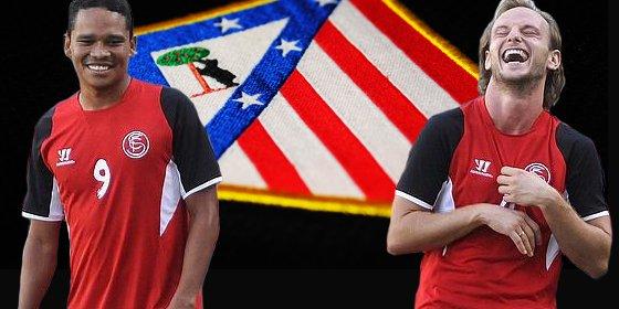 ¡El Atlético pretende la dupla Bacca y Rakitic!