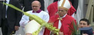 """El Papa en Ramos: """"¿Soy como Judas, que simula amar y besa al maestro, para traicionarlo? ¿Soy un traidor?"""""""
