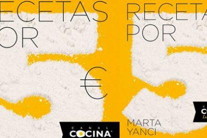 Marta Yanci y Canal Cocina enseñan a comer bien en tiempos de crisis
