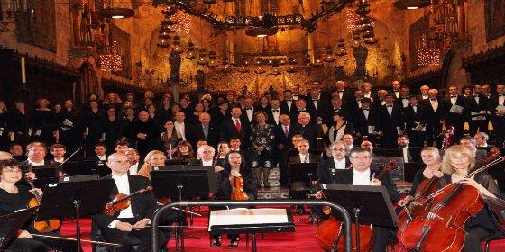 Proyecto Hombre coloca una vez más a la Reina Sofía como embajadora de sus drogadictos: concierto en la Catedral