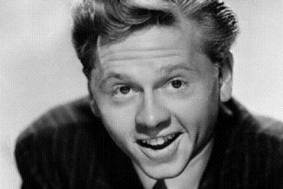 Muere el veterano y entrañable actor Mickey Rooney a los 93 años de edad