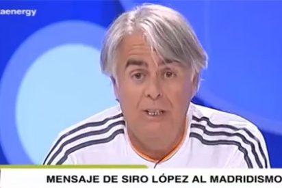 """Siro López: """"Ha vuelto a ganar el escudo del Real Madrid, el madridismo es feliz"""""""