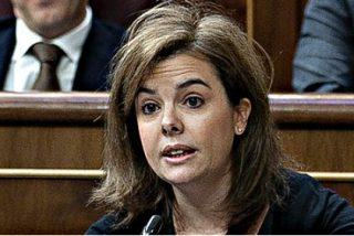 """Soraya Sáenz de Santamaría: """"En mi puta vida he cobrado un sobre [con dinero negro] del Partido Popular"""""""