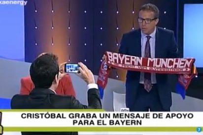 ¡Cristóbal Soria le manda un video de apoyo al Bayern de Múnich para el martes!