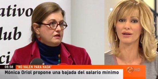 """Susanna Griso sobre Mónica Oriol: """"Una mujer a la que no le importa tocar los cojones"""""""