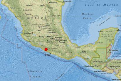 Un tremendo terremoto sacude el sur de México y se siente con fuerza en el DF