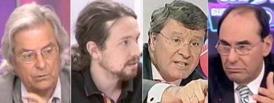 """Camacho acusa a Ciudadanos, Vox y Podemos de montar una """"democracia de tertulianos"""" con sus candidatos"""